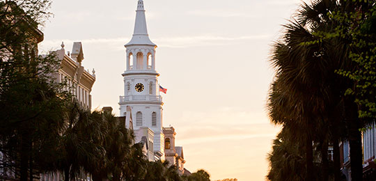 Beautiful Image of Downtown Charleston