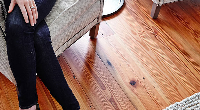 Image of beautiful hardwood floors.